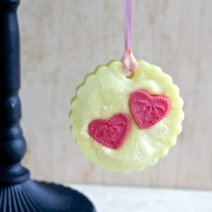 "scented wax tart ""Splash of Champagne"""